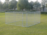 10*10*6 foot classic galvanized outdoor dog run kennels