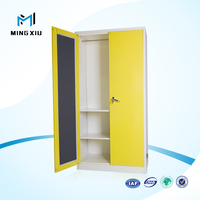 New design bedroom 2 door metal almirah