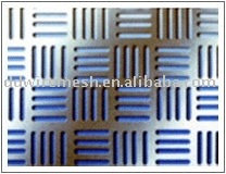 Rectangle Perforated metal mesh