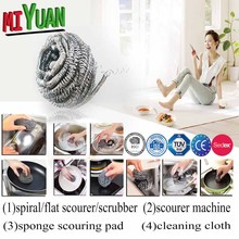 stainless steel sponge clean cleaning ball wash producto natural,stainless steel scourer