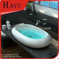 HY452 china manufacturer oval bathroom galvanized wash basin
