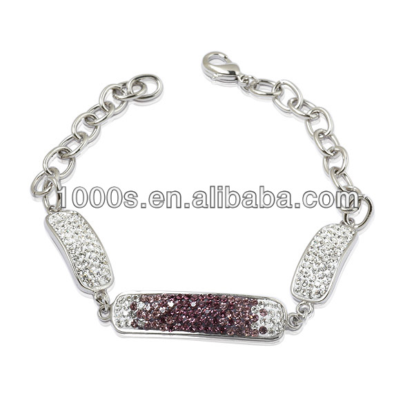 Silver silver bracelet watches for women Jewelry