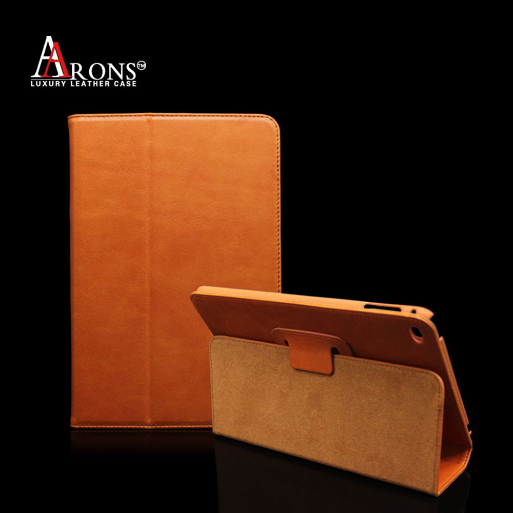 Good quality genuine leather case for ipad case wholesale price