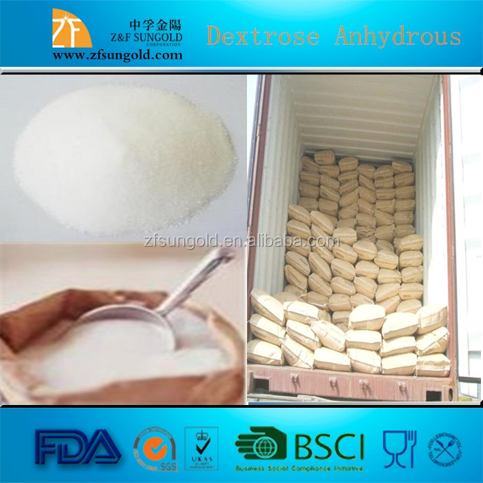 Monohydrate/Anhydrous Dextrose Food Grade Manufacturer in china