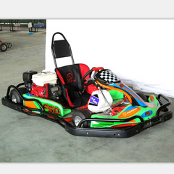 Low price cheap adult pedal racing go kart