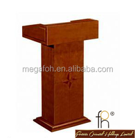 Church Podium / Lecture desk / wooden rostrum (FOHS-J07)