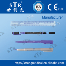 washable medical marker pen,surgical skin marker non-toxic 1mm