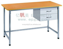 University School furniture Wooden desk , classroom teacher table
