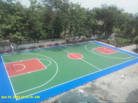 Silicon PU basketball sport courts
