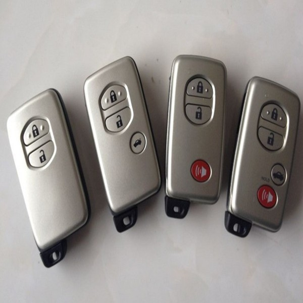 Tongda high quality 2+1 button smart key with emergency key, key cover factory price for toyota