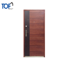 TOF Reasonable Price Alibaba TOP Steel Security Door Iron Door Outdoor