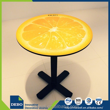 Wholesale products china laminate cafe dining table