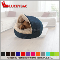 Factory price popular warm fabric pattern cat bed dog bed dog house