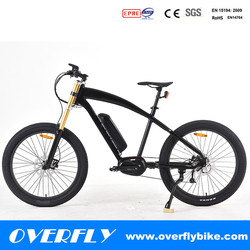 electric bike 8fun 250w motor fat tire bicycle mountain bike ebike