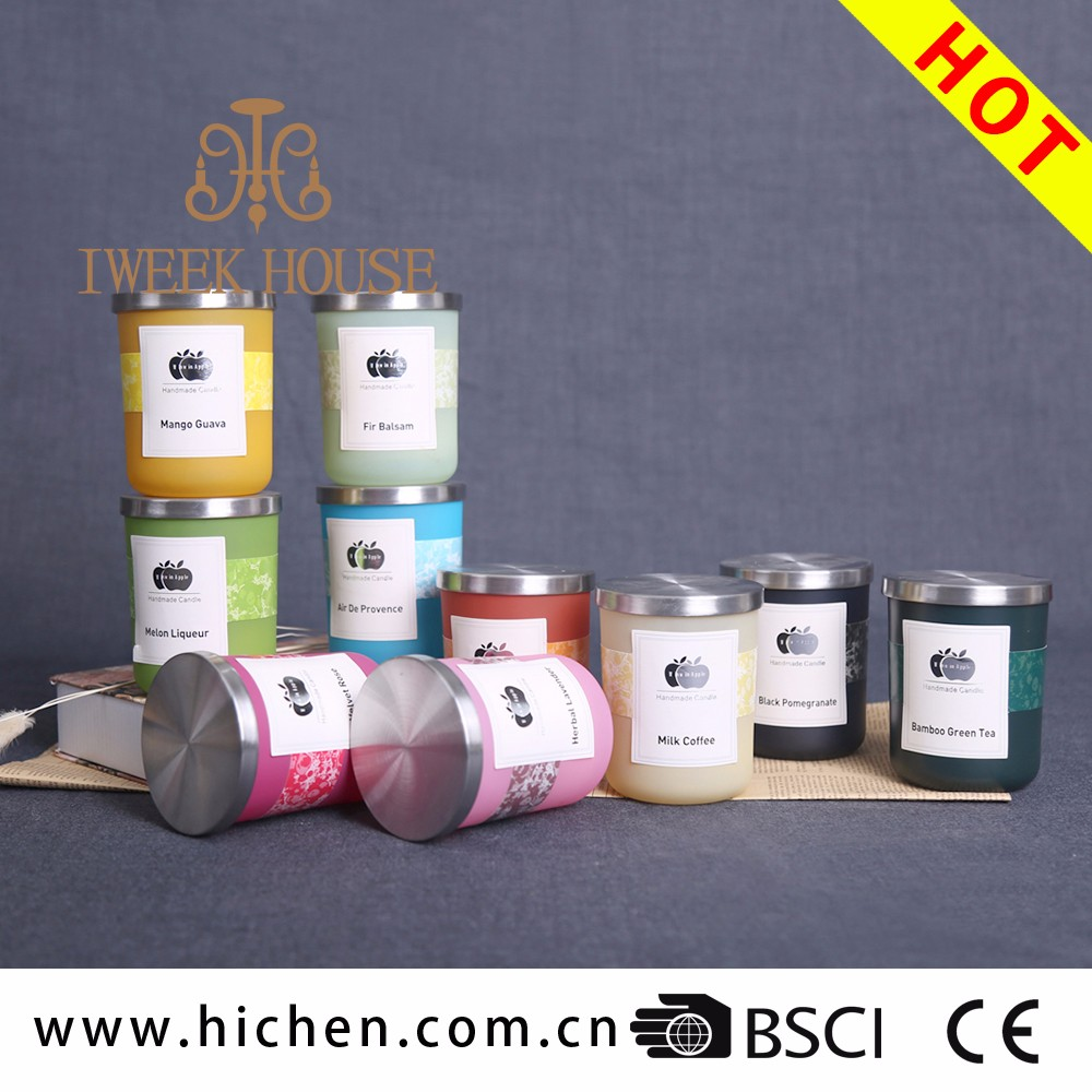 Hot sale Summer flavor woodwick candles wholesale for outdoor