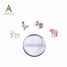 Veterinary Raw Material Anti coccidiosis 99% Purity Diclazuril
