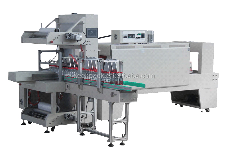 Shrinking Film Sleeve Wrapping Machine Packaging Machine for beverage bottle cans