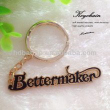 Alphabet keychain , Letters metal key chain,Name Key Chain