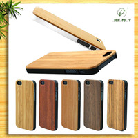 Top quality real wood mobile phone covers for iphone 6 2015 in stock best price