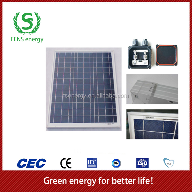High quality 30w TUV/CE/IEC/MCS Approved Poly-Crystalline Solar Panel,Home Solar System Use,Solar <strong>Energy</strong>