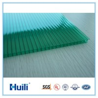 Green Polycarbonate Sunshade Roof Sheet For Skylight Solar Control Grade A Cheap Price Wholesale