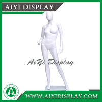 Display Plastic Sexy Lifelike Female Full Body Mannequin
