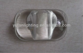 drilling hole led tempered glass for street/spot/garden light