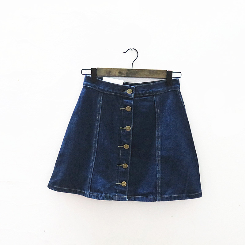 ZH03331B Denim Bodycon Tight Korean Women Jean Skirt