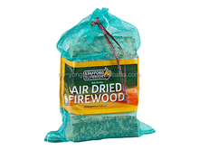 Firewood Mesh Bags with label ,polymesh bags