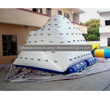 top quality summer floating water iceberg/ inflatable icebert games for sale