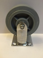 "6"" stainless steel heavy duty caster with TRP wheel"