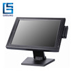 Pos Monitor 15 Inch Touch Screen Display With Pos Metal Stand-TM1501