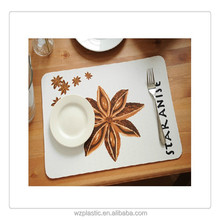 heat resistant table mats/kitchen plastic table mats
