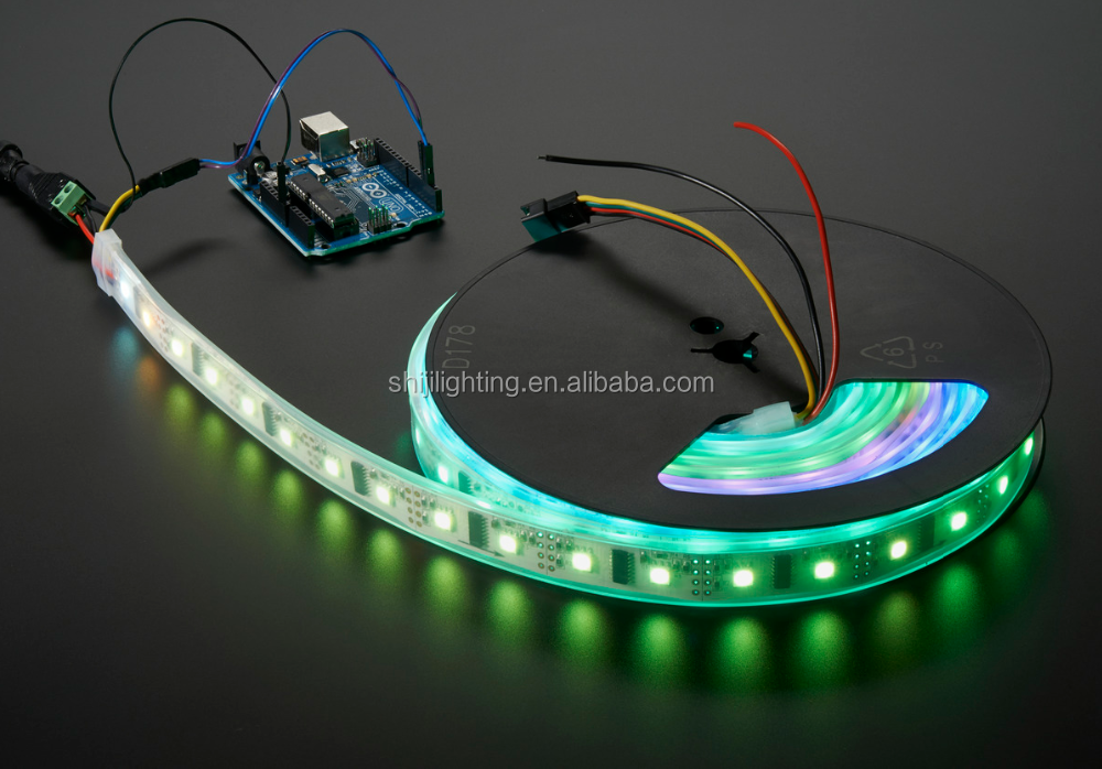 8806 Digital RGB LED Strip LPD8806 48 LED/Meter 5M DC 5V Light