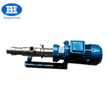 GS15-1 stainless steel single screw sugar cane pump