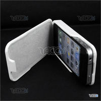 leather book case for apple iphone 4 4g P-iPHN4LECASE032