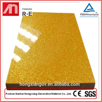 Transparent High Gloss 3D Acrylic MDF Panel Decorative Wall Coating