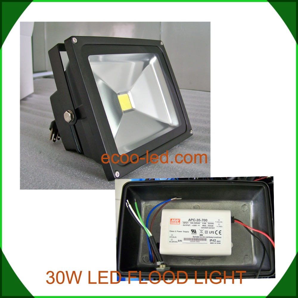 30w 50w 100w 150w LED flood light manufacturer in China meanwell driver bridgelux chips 5 days delivery time LED floodlight