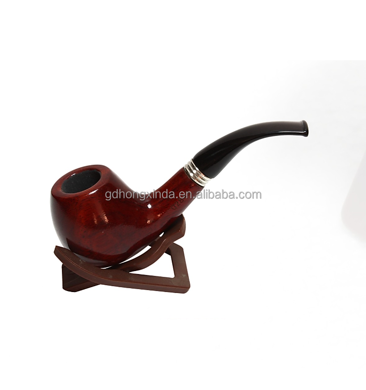 Classica Bent tobacco pipe high quality popular wood smoking pipes VEH-02843