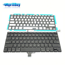 Computer accessory keyboard for Apple mac US backlit A1278
