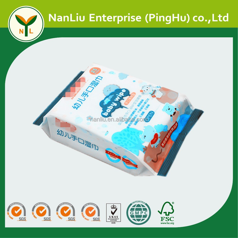 Fast delivery baby oil wet wipes turkey made in China (Professional baby wet wipes OEM/ODM)