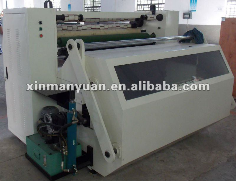 Automatic BOPP Printed Adhesive Tape Slitting Machine (BOPP Log Roll Slitting Machine)