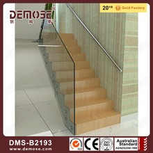 glass stairway banisters/balustrade parts
