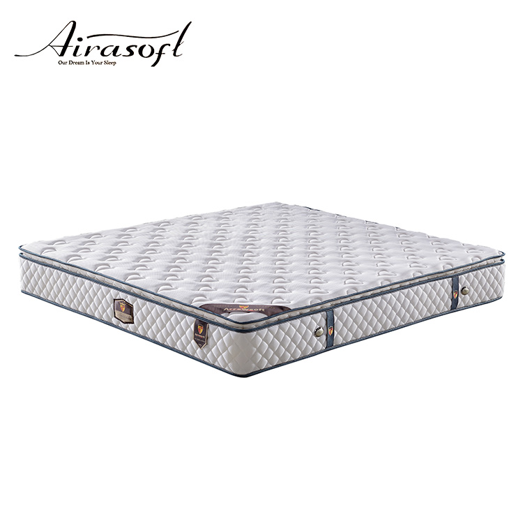 Hot selling queen size latex rolled pocket coil spring mattress - Jozy Mattress | Jozy.net
