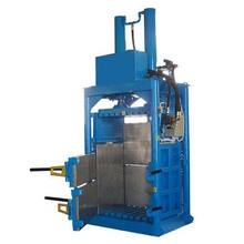 Plastic automatic scrap compactor/packer for wood shaving baling machine price
