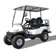 high quality electric golf cart with lifted suspension and bigger 10 12 inch wheels 4x4 and 4x2 golf cart