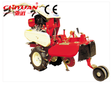 small farm equipment hand operated diesel hillers/ cultivator hiller/grain seeding machine