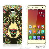 2015 New products leopard fashion cell phone cover hard case for motorola Moto G