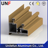 New arrival 6063 alloy commercial aluminum window frames Nepal series