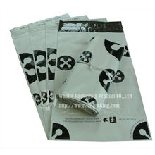 Wholesale white black printed bags peel and seal envelope with self-adhesive